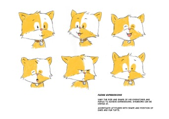 Fudge expression sheet